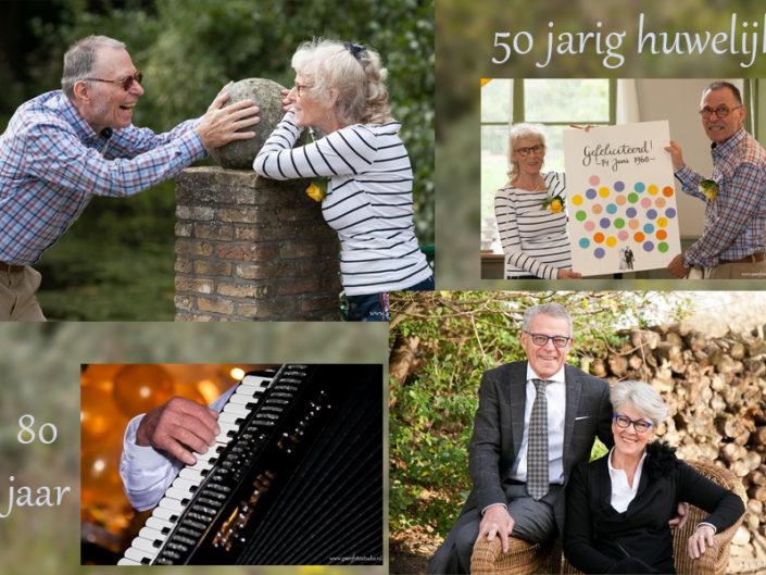 50 jarig huwelijk en 80 jarig feest